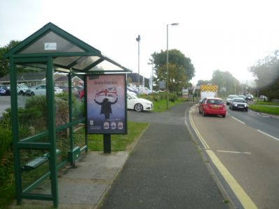 2104-7 Panel 3 Next To BP Garage Leonards Road Ivybridge